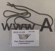 Pau Illana Gazquez Official 2015 NJKF Muay Thai Cornerman Pass Credential MMA