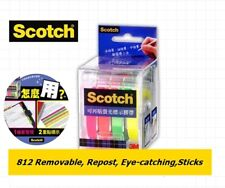 3m Post It Flags 812 4 Colors Bookmark Point Sticky Note Plastic Paper Index