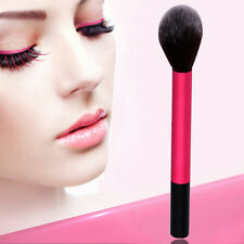 Pro Flamme Pinceau Brosse Maquillage Fard Joues Fond Teint Poudre Visage Outils