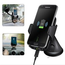 Universal Qi Wireless Car Charger Holder Dock Cradle Mount For iPhone Samsung LG