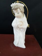 "Lladro Porcelain miniature figurine ornament Nativity  Made in Spain 3 1/4"" h"