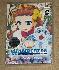 The Wanderers El Hazard Tv Series Volume 1 The Adventure Begins DVD New