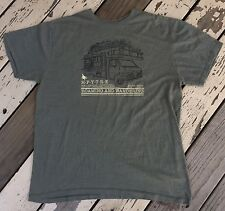 HippyTree • Surf and Stone • ROAMING & WANDERING • Men's RV T-Shirt size LARGE