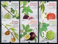 Portugal Plants Stamps 2017 MNH Fruit Fruits Grapes Figs Apples Trees 6v Set