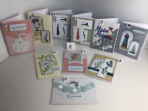 Grußkarten, Handarbeit, Karte Stampin Up - u.A. Versch. Anlässe (Auswahl - R)