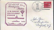 1965 Gemini 11  Recovery Ship USS O'Bannon DD450  6