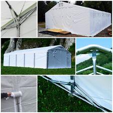Pavillon Lagerhalle 4x6 - 8x12m Lagerzelt PVC ganzjährig XXL Extra stabil ZELT