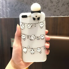3D Panda Design Phone Fitted Case Cover TPU Shell for Apple iPhone 6/6SPlus