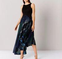 Coast Cheska Jacquard Maxi Dress  Size 10 BNWT