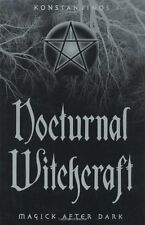 Nocturnal Witchcraft Book ~ Wiccan Pagan Witchcraft Supply