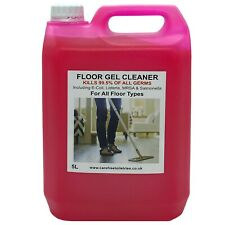 More details for floor gel cleaner 5l with new easy to use pump bubble gum scent 2nd half price