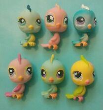 Littlest Pet Shop Parakeet/Finch Lot  #12,123,190,206,553,595