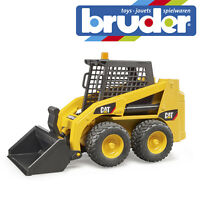 Bruder Cat Skid Steer Loader Childrens Kids Construction Toy Model Scale 1:16