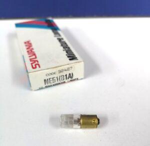 3-PK T3.25 MINIATURE BULB Light LAMP Clear Neon Short Indicator NE51 B1A NEW