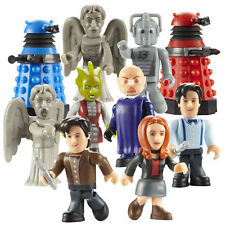 CHARACTER BUILDING DOCTOR WHO - MICRO-FIGURES - SERIES 1 - FULL SET of 10