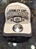 New Los Angeles Kings NHL Stanley Cup Championship Hat 2014 New Era