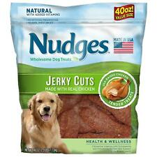 Nudges 06676 Health Wellness Chicken Jerky Cut - 40oz