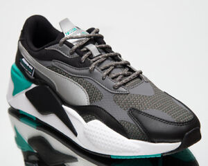 Puma Mercedes-AMG Petronas F1 RS-X³ Motorsport Men's Smoked Pearl Sneakers Shoes