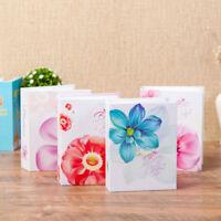 Pictures Storage Case Photo Album Pockets Floral Pattern Photo Album Memory D