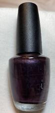Opi Nail Lacquer, Black Label, Rare, Unopened, Concord Grape