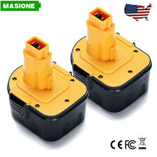 2 Packs 12V BATTERY FOR DEWALT DC9071 DW9071 DW9072 DW051K DW052K 12 VOLT Tools