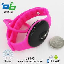 Bluetooth4.0 Bracelet/Wristband AprilBeacon with iBeacon & Eddystone tech