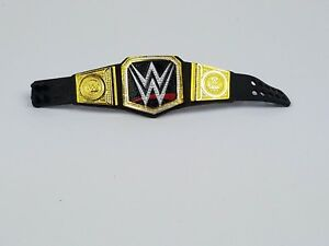WWE Elite World Heavyweight Championship belt Action figure Mattel