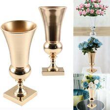 43cm Large Iron Luxury Flower Vase Urn Wedding Table Centrepiece Home Decorative