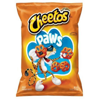 Cheetos Cheese Puffs Paws 7.75 oz (Pack of 1)