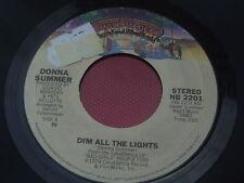 Donna Summer: todas las luces tenues-siempre habrá que: NB 2201