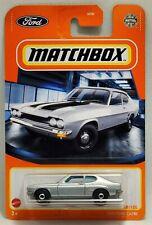 Matchbox 2021 Silver 1970 Ford Capri #18