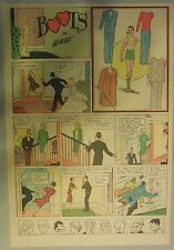 Boots Sunday Page with Uncut Paper Doll from 11/27/1938 Rare! Early Paper Doll