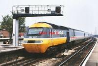 PHOTO  CLASS 253 HST NO 253 037 INTER CITY LIVERY AT  TAUNTON 1980S