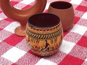 NEW Hittite design Wine cup - Mini Yellow