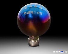 NRG Honda Ball 49mm Shift Knob 6 Speed - Titanium w/ NRG Logo - Part # SK-311TI