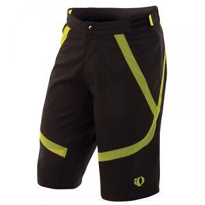Pearl Izumi Men's Divide Short Cycling MTB Black Lime New