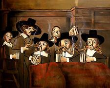 THE DUTCH MASTERS  CIGARS CUBANS CUBISM GICLEE PRINT SMOKING  ANTHONY FALBO