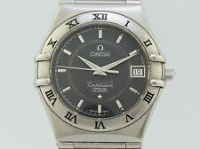 Omega Constellation Perpetual Calendar Quartz Steel 59344358