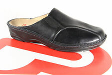 Berkemann Women Clogs Slippers Sabot Real Leather Black 03420 New
