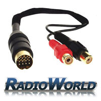 Kenwood Aux IN Input Adapter Cable / Lead for IPOD /MP3 Gold Plated