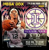 2019-20 Panini ILLUSIONS BASKETBALL MEGA BOX NIB SEALED ZION MORANT LUKA LEBRON