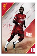 "Liverpool FC Sadio Mane 2019 -2020 Seaon Poster  24x36"" Official |UK Seller"