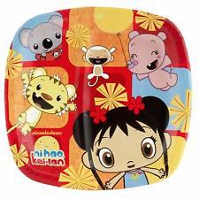 """Ni Hao, Kai-Lan Cartoon Nick Jr TV Kids Birthday Party 9"""" Square Dinner Plates"""