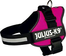 Julius-K9 K9 Powerharness for Dogs Size Mini-mini Dark Pink