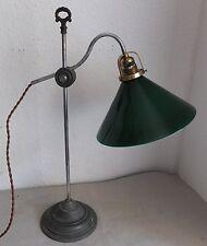 Antik  große Jugendstil Tischlampe Lampe Schreibtisch Art Deco antique desk lamp