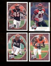 2008 Upper Deck Heroes CHAD JOHNSON Cincinnati Bengals Football Heroes Set