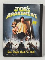 JOE'S APARTMENT  Jerry O'Connell  Megan Ward  50,000 Cockroaches  Cult  DVD USA