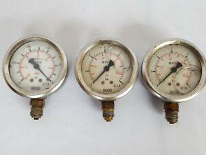 Wika Pressure Gauge Psi gauge instrument x3
