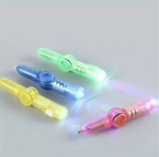 LED Light Ball Point Pen Fidget Spinner