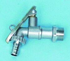 """B22-00083 - 3/4"""" BSPT Male Thread inlet&Outlet-Brass Drum tap-NP"""